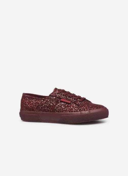 Sneakers Superga 2750 Macroglitterw Bordeaux achterkant