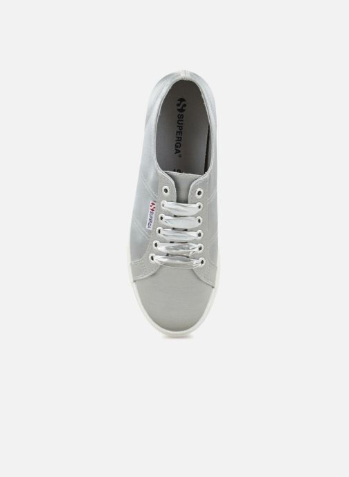 Baskets Superga 2730 Satin W Gris vue gauche