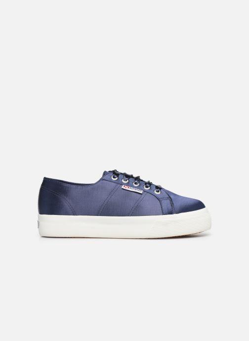 Sneaker Superga 2730 Satin W blau ansicht von hinten
