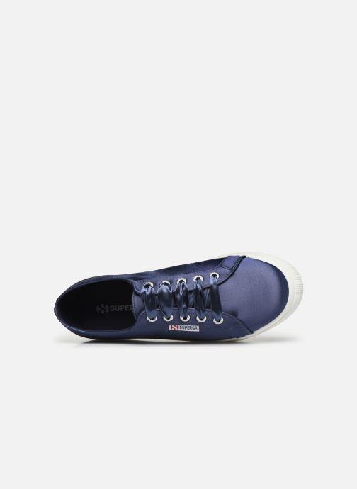 Sneaker Superga 2730 Satin W blau ansicht von links