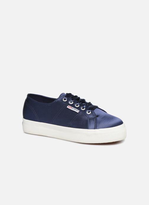 Sneakers Superga 2730 Satin W Blauw detail