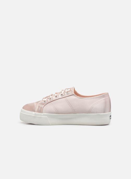 Sneaker Superga 2731 Satin W rosa ansicht von vorne