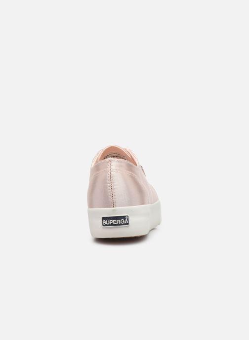 Sneakers Superga 2731 Satin W Roze rechts