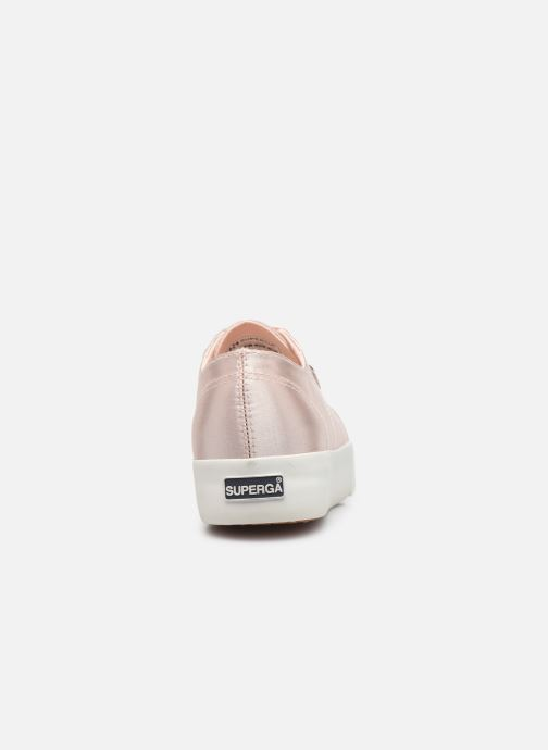 Sneaker Superga 2731 Satin W rosa ansicht von rechts