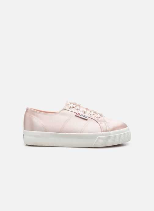 Sneakers Superga 2731 Satin W Roze achterkant