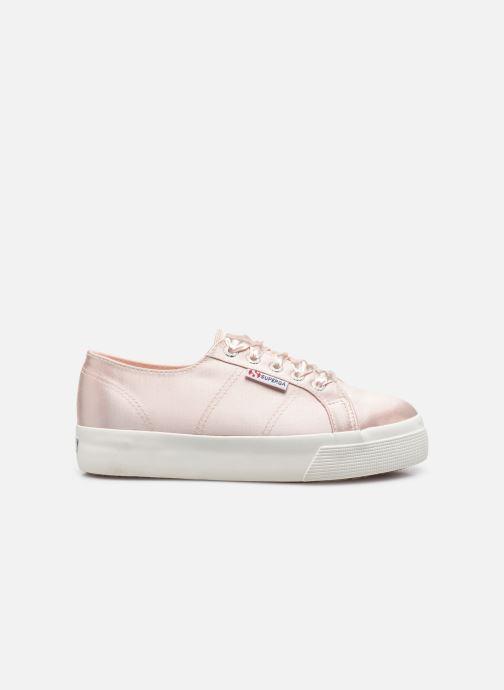 Sneaker Superga 2731 Satin W rosa ansicht von hinten
