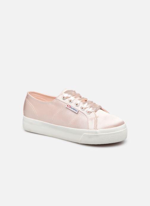 Sneaker Superga 2731 Satin W rosa detaillierte ansicht/modell