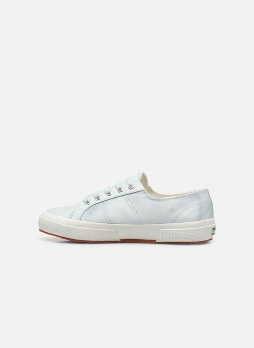 Sneakers Superga 2749 Satin W Blauw voorkant