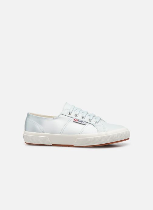 Sneakers Superga 2749 Satin W Blauw achterkant