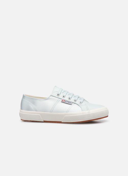 Sneakers Superga 2749 Satin W Azzurro immagine posteriore