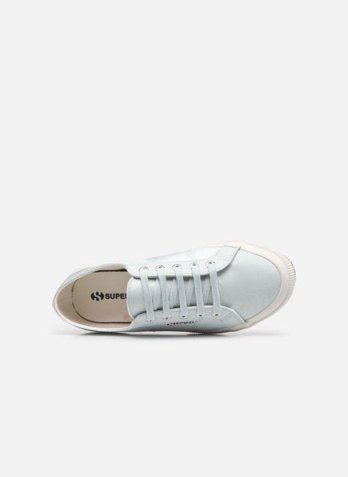 Sneakers Superga 2749 Satin W Azzurro immagine sinistra