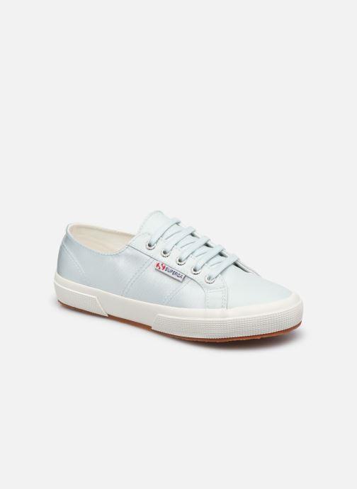 Sneakers Superga 2749 Satin W Blauw detail