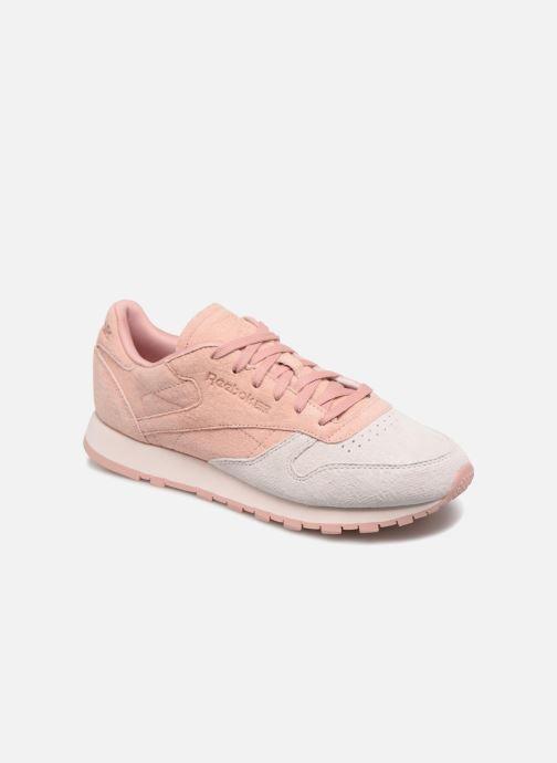 c1ae783d Reebok Classics Leather nubuck (Pink) - Trainers chez Sarenza (348457)