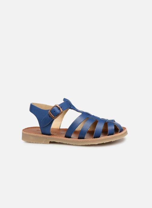 Sandalen Tinycottons Braided sandals blau ansicht von hinten