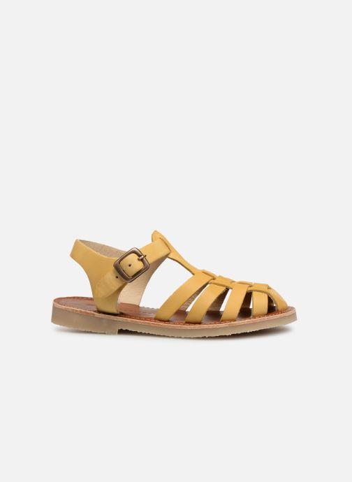 Sandales et nu-pieds Tinycottons Braided sandals Jaune vue derrière