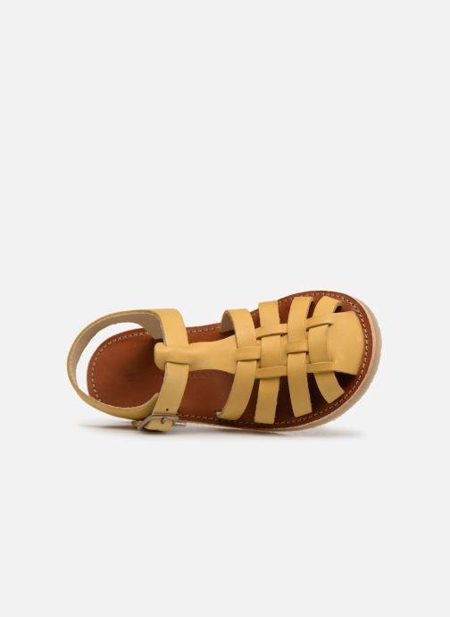 Sandales et nu-pieds Tinycottons Braided sandals Jaune vue gauche