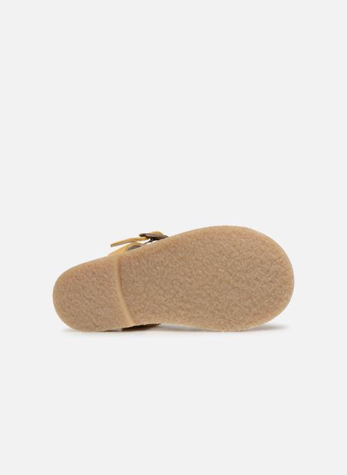Sandales et nu-pieds Tinycottons Braided sandals Jaune vue haut