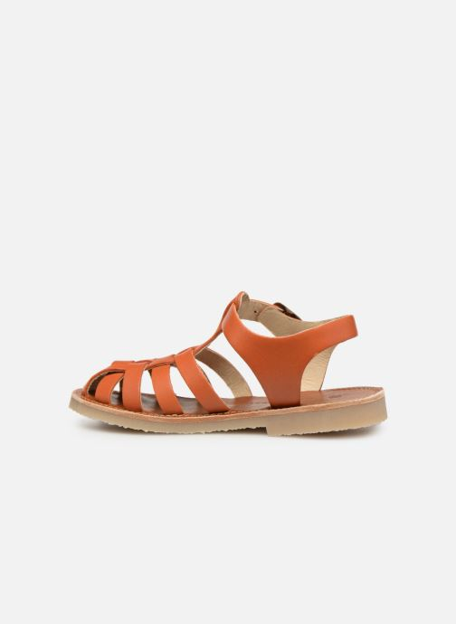 Sandalias Tinycottons Braided sandals Marrón vista de frente