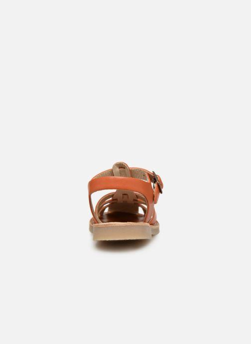 Sandalias Tinycottons Braided sandals Marrón vista lateral derecha