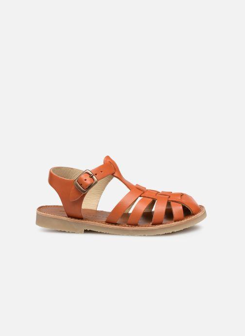 Sandalias Tinycottons Braided sandals Marrón vistra trasera