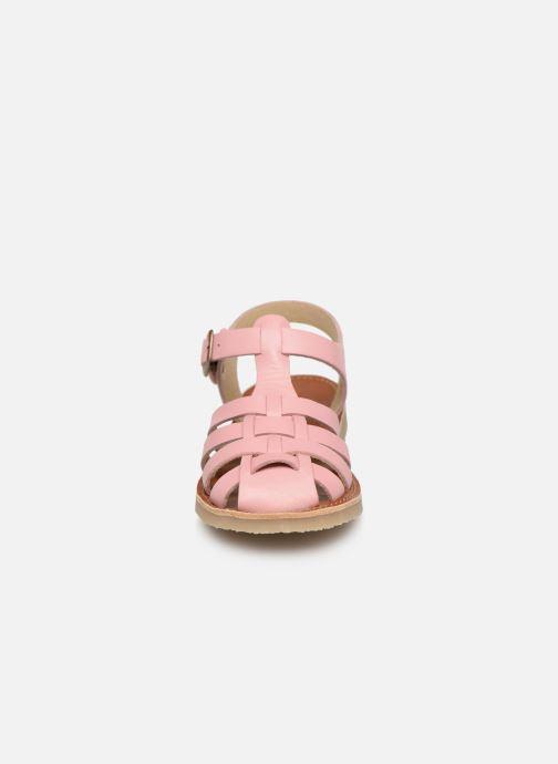 Sandaler Tinycottons Braided sandals Rosa bild av skorna på