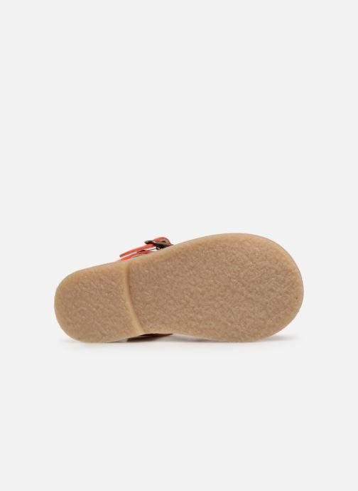 Sandales et nu-pieds Tinycottons Braided sandals Orange vue haut