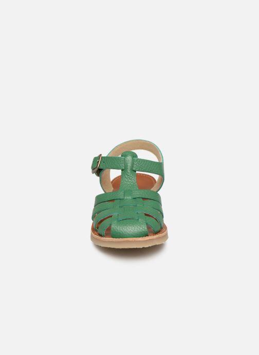 Sandalen Tinycottons Braided sandals grün schuhe getragen