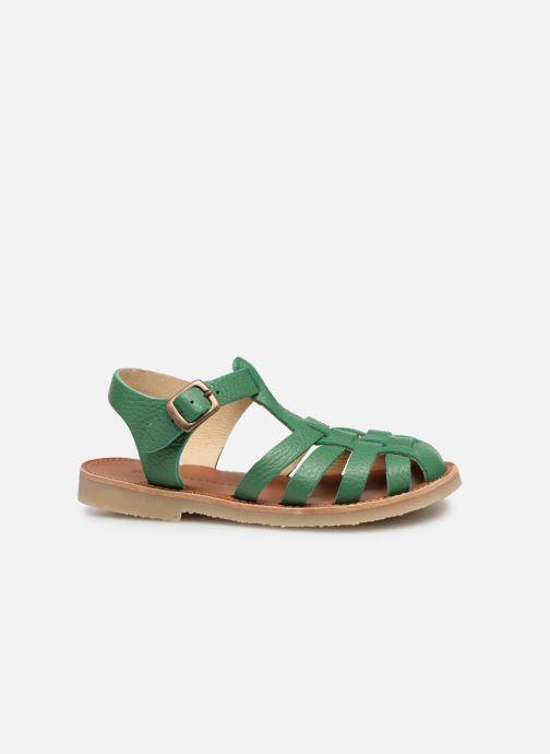 Sandales et nu-pieds Tinycottons Braided sandals Vert vue derrière