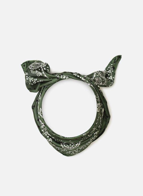Sciarpa y foulard Manipuri 34 65X65 Verde vedi dettaglio/paio