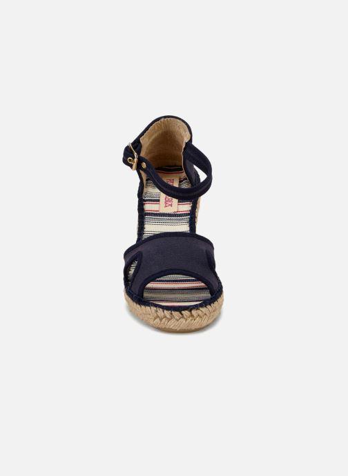 Sandales et nu-pieds Pare Gabia 616120-50 Bleu vue portées chaussures