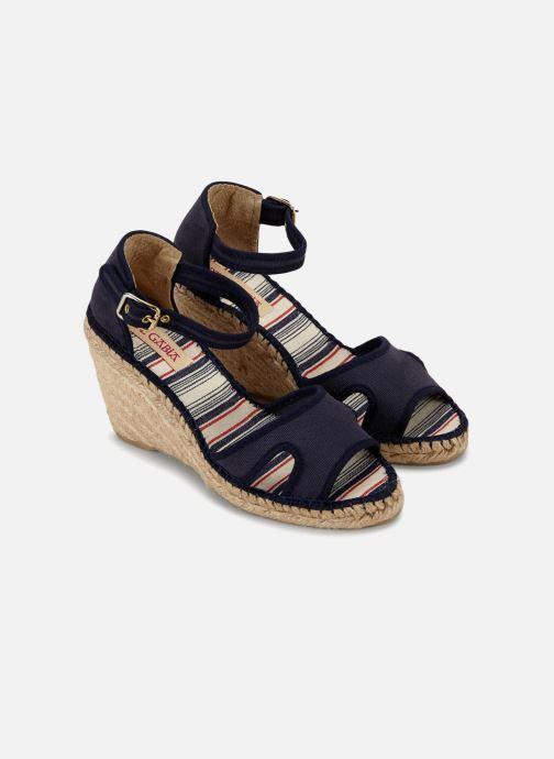 Sandales et nu-pieds Pare Gabia 616120-50 Bleu vue face