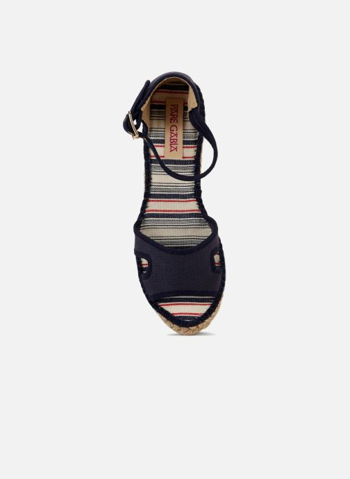 Sandals Pare Gabia 616120-50 Blue view from the left