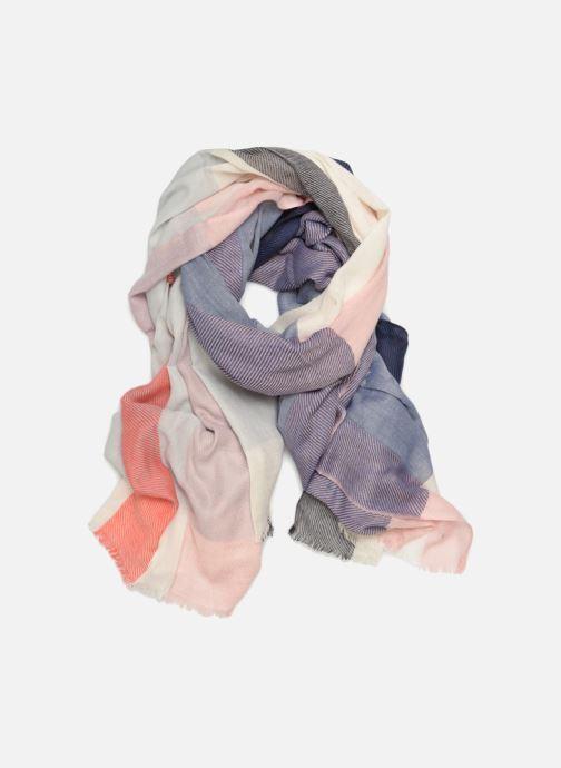 Halsduk och scarf Ma Poésie MP3FOR62TU Blå detaljerad bild på paret