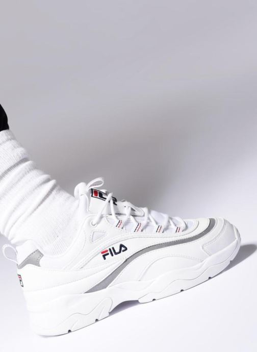 Sneakers FILA Ray WMN Bianco immagine dal basso