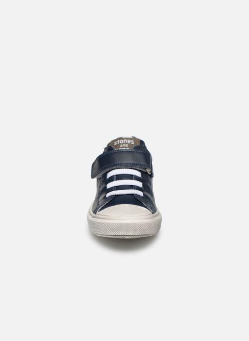 Baskets Stones and Bones Cisto Bleu vue portées chaussures