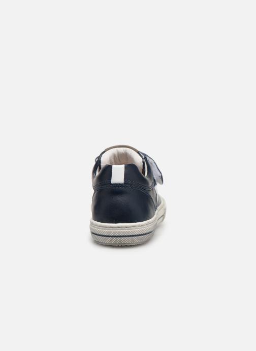 Sneaker Stones and Bones Cisto blau ansicht von rechts