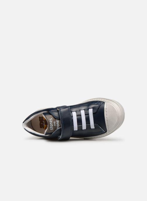 Sneaker Stones and Bones Cisto blau ansicht von links