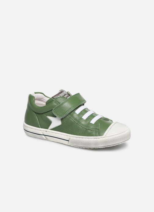 Trainers Stones and Bones Cisto Green detailed view/ Pair view
