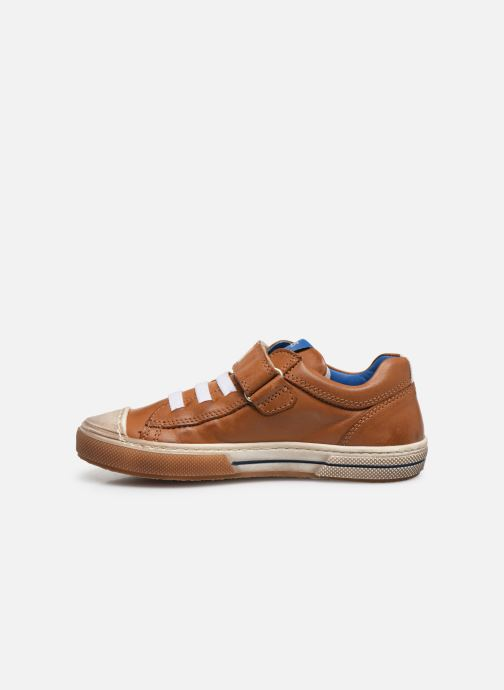 Trainers Stones and Bones Cisto Brown front view