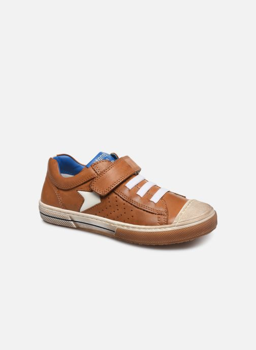 Trainers Stones and Bones Cisto Brown detailed view/ Pair view