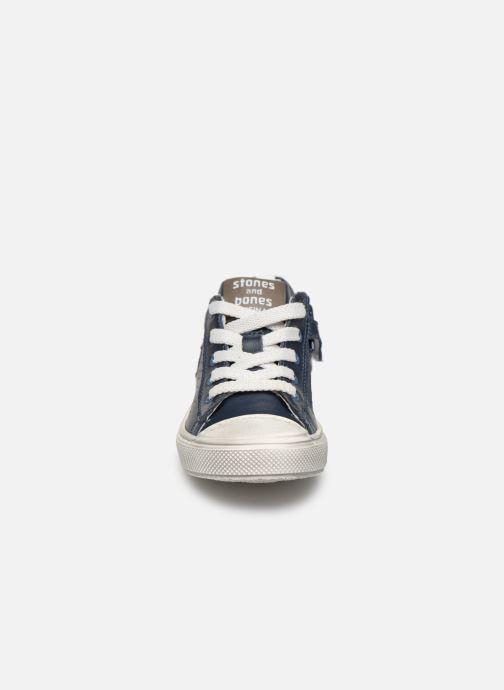 Baskets Stones and Bones Corso Bleu vue portées chaussures