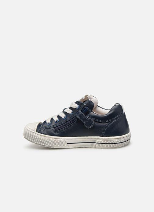 Sneakers Stones and Bones Corso Blå bild från framsidan