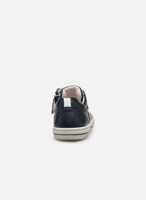 Sneakers Stones and Bones Corso Blå Bild från höger sidan