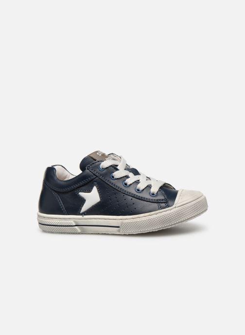 Sneakers Stones and Bones Corso Blå bild från baksidan