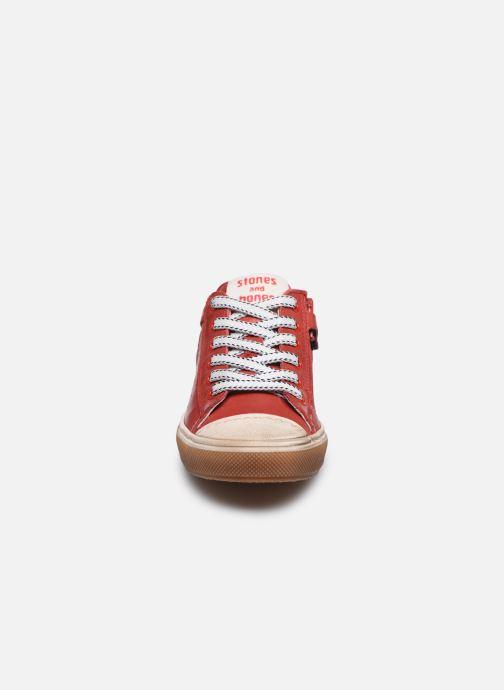 Baskets Stones and Bones Corso Rouge vue portées chaussures