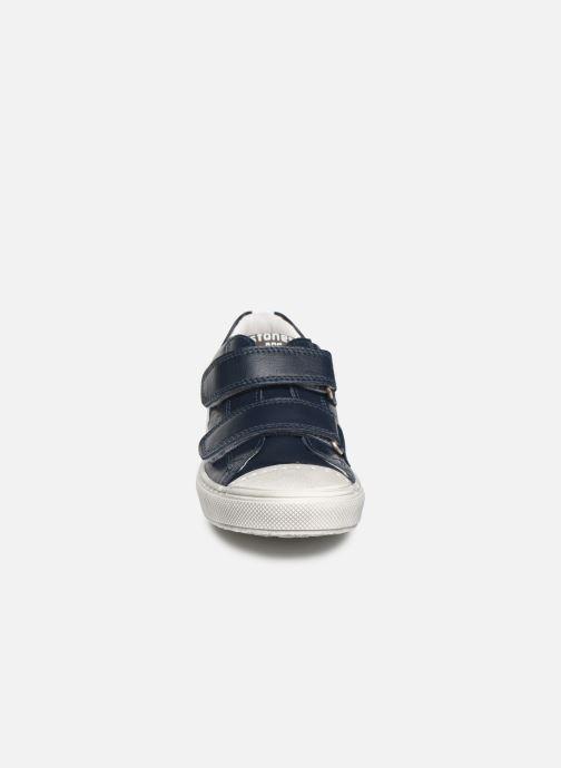 Baskets Stones and Bones Cheto Bleu vue portées chaussures