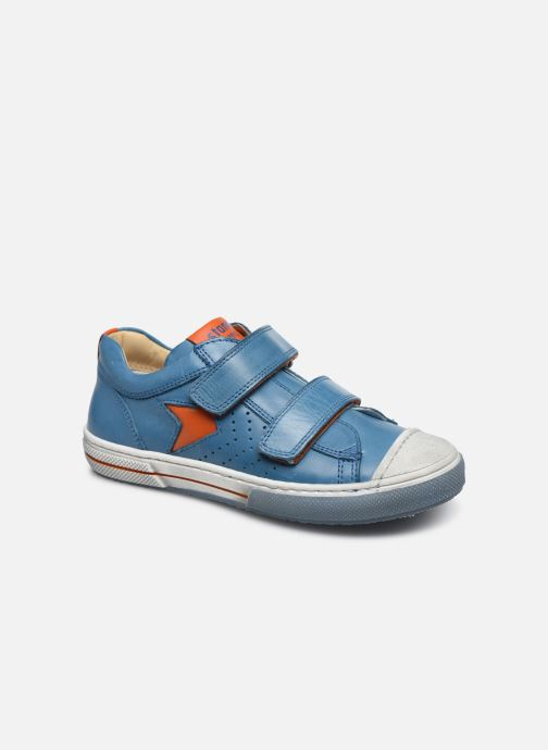 Trainers Stones and Bones Cheto Blue detailed view/ Pair view