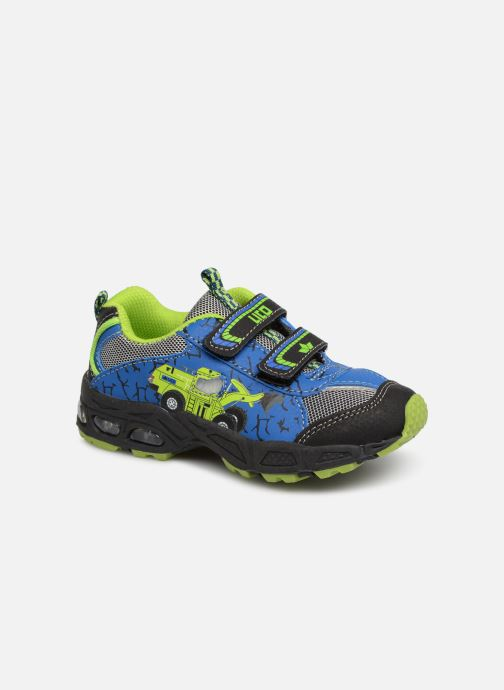 Zapatillas de deporte Lico Loader V Blinky Azul vista de detalle / par