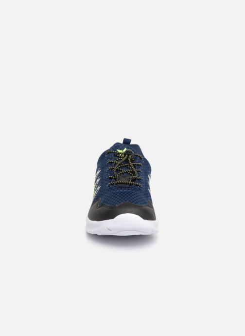 Chaussures de sport LICO Mikado Bleu vue portées chaussures