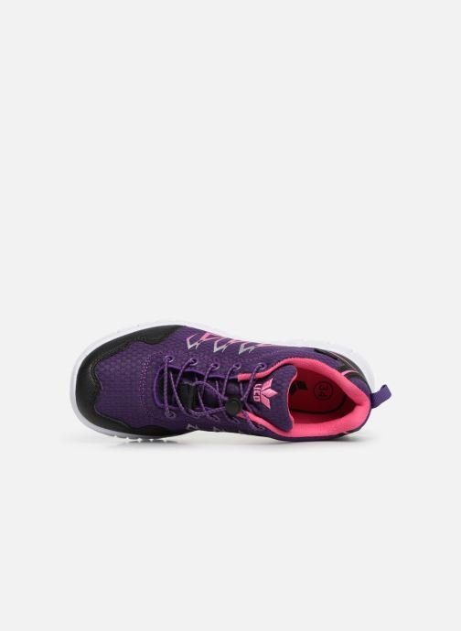 Sport shoes LICO Mikado Purple view from the left
